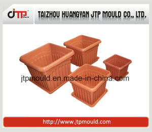 High Gloss Core Mould of Square Plastic Flower Pot Mould pictures & photos
