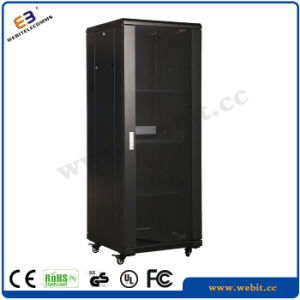 """Glass Door Server Rack with Polish Surface for 19"""" Equipments (WB-NCxxxx05B) pictures & photos"""