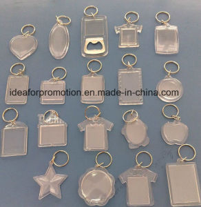 Custom Acrylic Keychain/Plastic Key Chain for Promotion pictures & photos