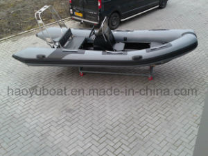 15.5feet Made in China Cheap Rib Boat, Inflatable Fishing Boat, Sport Boat Rigid Boat for Sale pictures & photos