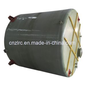 FRP/GRP Horizontal Fuel Storage Tank Septic Tank Oil Fuel Water Storage Container Chemical Tank pictures & photos