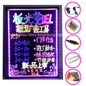 New LED Lighting Board for Christmas Flash LED Writing Board pictures & photos