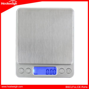 Mini Pocket Portable Stainless Steel Precision Jewelry Scale pictures & photos