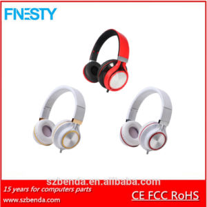 Gaming Wired Headphone HD608 with Mic and Remote Contral