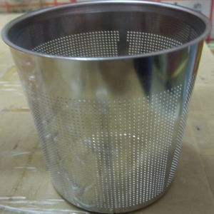 Galvanized Perforated Sheet Use for Making Trash Can pictures & photos