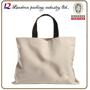 Gift Paper Nonwoven Shopping Bag Leather Cotton Canvas Handle Shopping Bag (X070) pictures & photos