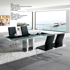 Extendible Glass Dining Table