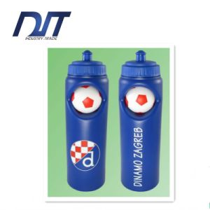 750ml Plastic Sports Water Bottles with Basketball Promotional Gifts