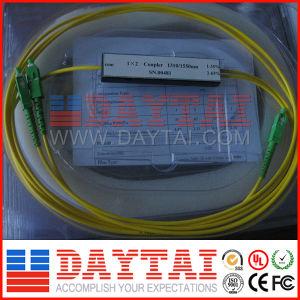 Single Mode Fiber Optic Splitter Coupler 1X2 pictures & photos