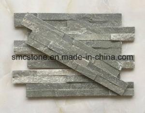 10*40cm Hot Sale Natural Black Slate Building Stone (HHSC10X40-002) pictures & photos