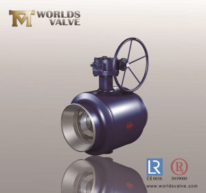 Reduced Bore Welding End Ball Valve pictures & photos