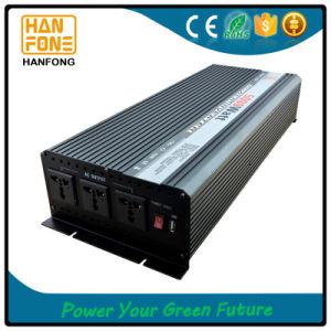 Triple Output Type Power Inverter DC 12V AC 220V 5000W Peak 10000W (THA5000) pictures & photos