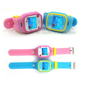 Touch Screen Kids GPS Watch with GPS+Lbs+WiFi Triple Position (D13) pictures & photos