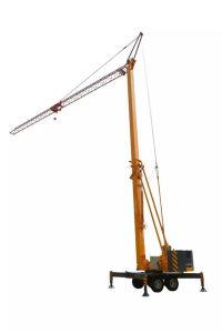 Cummins 30 Kw Genset Foldable Mobile Tower Crane (MTC28065) pictures & photos