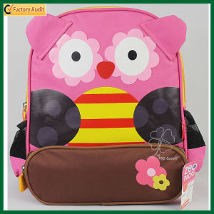 Lovely Kid Cartoon Backpack Night Owl Rucksack (TP-BP178) pictures & photos
