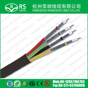 HDTV Four 17vatc Coaxial Cable Composite Cable for Satellite TV