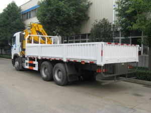 China Made 12 Tons Folded Arm Truck Crane pictures & photos
