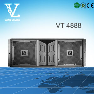 Vt-4888 Full Range 3-Way Double 12′′ Woofer Line Array Speaker pictures & photos