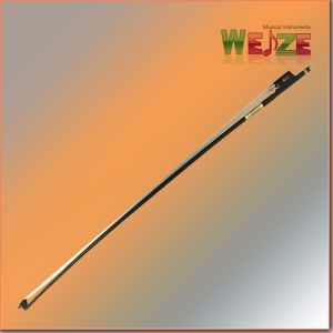 Hot Sell Golden Plated Screw Violin Carbon Fiber Bow pictures & photos