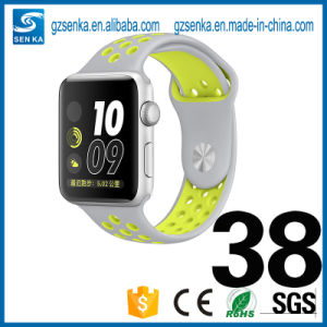 New Premium Sport Luminous Silicone Iwatch Strap 38mm pictures & photos
