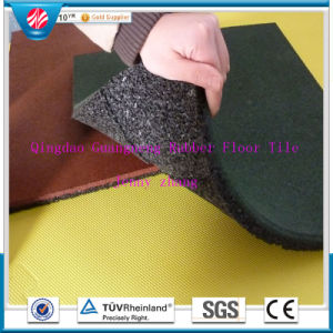 Outdoor Playground Rubber Tile/Interlocking Rubber Floor Mat/Colorful Rubber Tiles pictures & photos