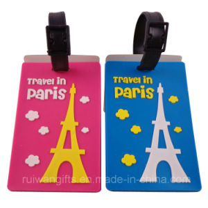 PVC Travel Luggage Tag (LT020) pictures & photos
