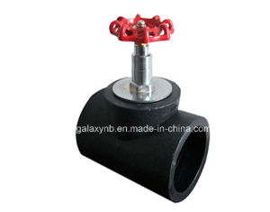 High Quality PE Pipe Fittings Elevation Stype Shut-off Valve pictures & photos