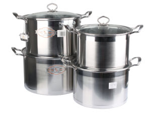 High Quality Stainless Steel Cooking Pot pictures & photos