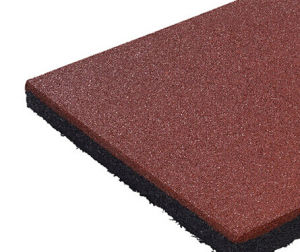 Anti Static Recycled Outdoor Rubber Granules Tiles pictures & photos