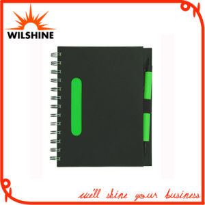 Black Colour High Quality Spiral Notebooks Wholesale (SNB120) pictures & photos