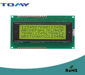 16X4 Stn Character LCD Module with Backlight pictures & photos