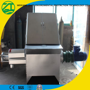 Diagonal Screen Type Solid Liquid Separator for Animal Manure pictures & photos