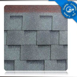 Laminated Asphalt Roof Shingle /Self Adhesive Colorful Fibreglass Roof Tile /Bitumen Roofing Material with ISO (12 Colors) pictures & photos