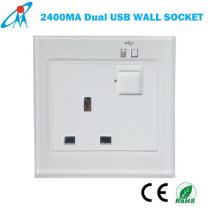 singapore malaysia plug socket outlet with dual usb charger