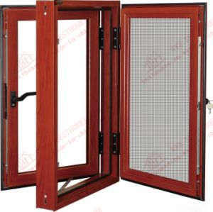 Mosquito Net Screen and Casement Combined Window (BHN-C03) pictures & photos