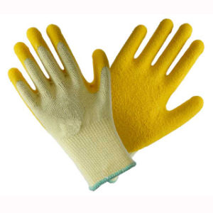 (LG-016) 13t Latex Coated Labor Protective Safety Work Gloves pictures & photos