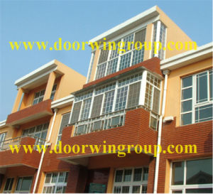 Excellent Quality Solid Wood Aluminum Windows pictures & photos
