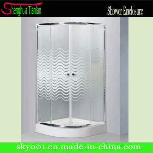 New Design Double Sliding Door Douche Cabine pictures & photos