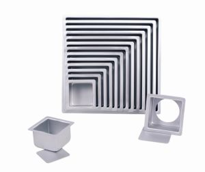 Bakeware Aluminum Anodized Square Cake Pan with Removable Bottom (MY2344A-MY2356A) pictures & photos