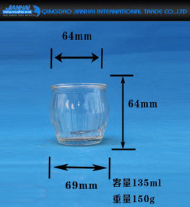 OEM Custom Candle Glassware Glass Candle Holder pictures & photos