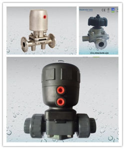 Pneumatic Diaphragm Valve, Stainless Steel Diaphragm Valve pictures & photos