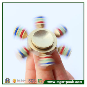 New Design Glowing Brass Hand Spinner pictures & photos