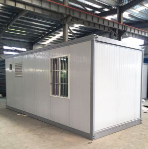 Low Cost Modular Folding Container House for Construction Sites pictures & photos