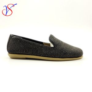 Three Color Soft Comfortable Flax Lady Women Shoes Sv-FT 013 pictures & photos