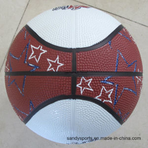 High Quality Promotional Junior Size Rubber Basketball pictures & photos