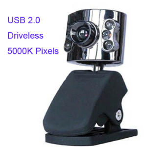 5.0 Mega Pixels PC Camera with Night Light, Microphone+Packing+Switch, Plug & Play )