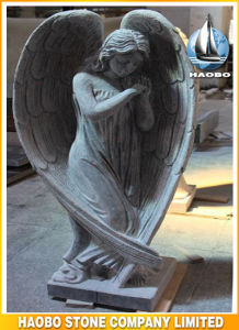 Granite Non-Religious Angel Sculpture Grey Colored pictures & photos