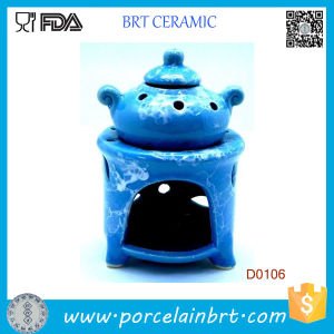 Blue Pot Design and Potpourri Wax Oil Burner Vaporizer pictures & photos