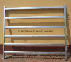 Hot DIP Galvanized Steel Tube Cattle Yard Panel pictures & photos