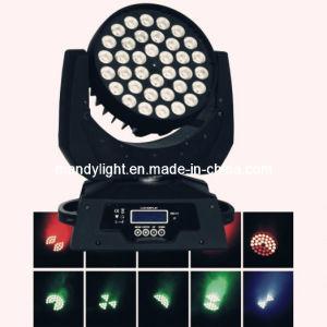LED Moving Head Light Wash 36PCS X 10 W Quad-in-1 LED Moving Head Light/36PCS*10W 4-in-1 RGBW/a LED Moving Head Light (MD-B017)